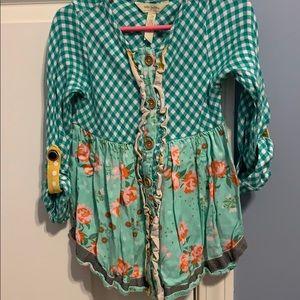 Matilda Jane with Joanna Gaines shirt